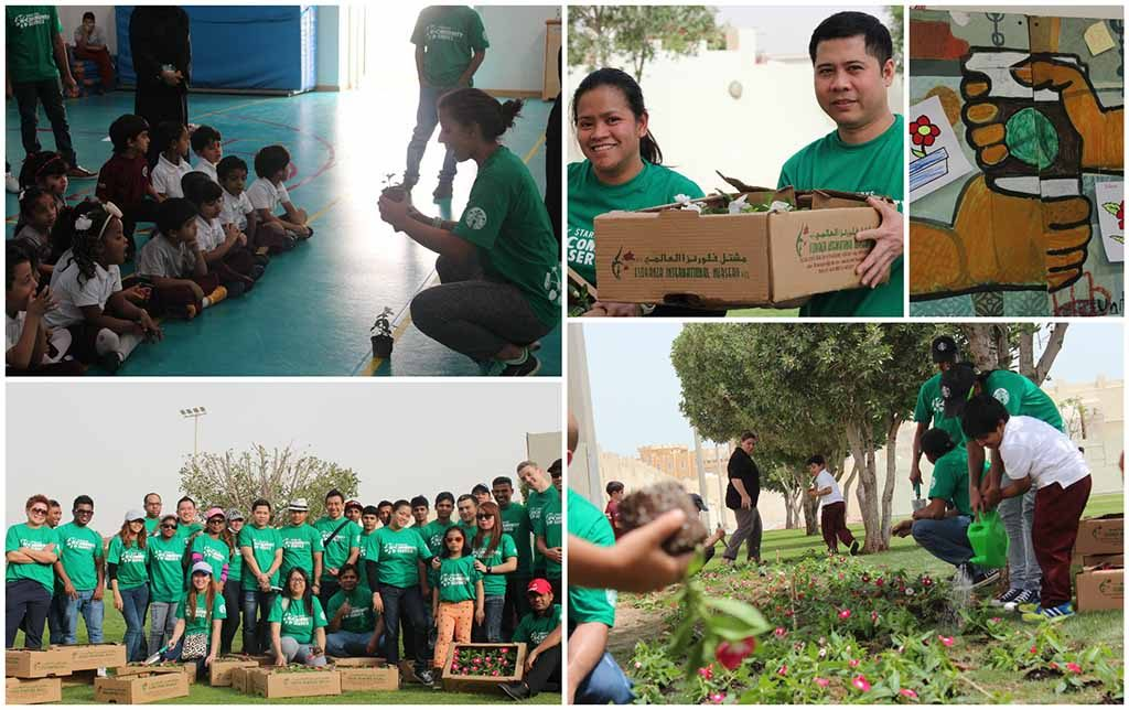 starbucks - Corporate Social Responsibility Activities