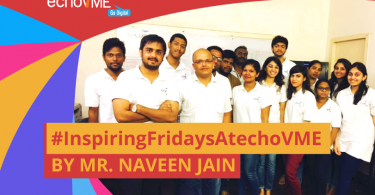 Inspiring Friday Session with Mr. Naveen Jain